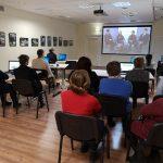 Mokymų dalyviai stebėjo tiesiogines interneto transliacijas apie saugumą internete