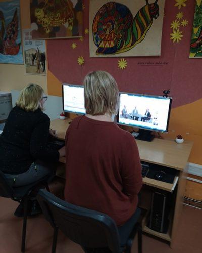 Saugesnio interneto diena Krakių filiale