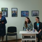 Susitikimas su aktore Karolina Kontenyte ir dailininke Žvėrūna Mažeikių viešojoje bibliotekoje