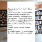 Bibliotekininkė rengė skaitytojams nuotolines užduotis