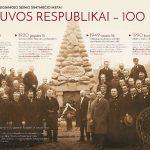 Parodoje eksponuojamas Steigiamojo Seimo 100-mečio metams skirtas plakatas