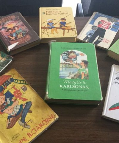 Skaitomiausios bibliotekos knygos