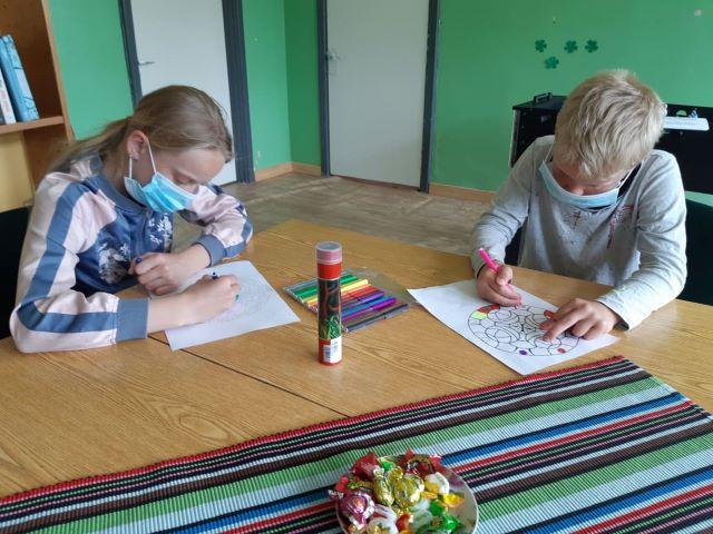 Edukacinis užsiėmimas Balėnų bibliotekoje
