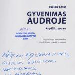 Keliautojo Pauliaus Kovo autografas
