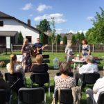 Poezijos popietę dainomis paįvairino Inga Gudauskienė ir Kostas Drunys