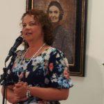 Padėkos žodį tarė Šatrijos Raganos premijos laureatė Jūratė Norvaišienė