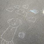 Piešiniai ant asfalto