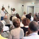 Susirinkusiuosius sveikino bibliotekos direktorė Alina Bernotienė