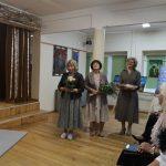 Padėkos žodžius tarė Urvikių kultūros centro ir Buknaičių bendruomenės atstovės