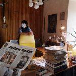 Redaktorė Dalia Zabitienė pasakojo apie šioje redakcijoje dirbusius rašytojus