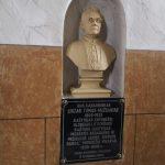 Vaižganto biustas ir atminimo lenta Mosėdžio Šv. Arkangelo Mykolo bažnyčioje