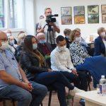 Į renginį susirinko daug literatės draugų, buvusių bendradarbių