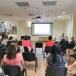 Kimočiai metodikos pristatymas bibliotekos darbuotojams