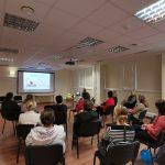 Kimočiai priemonių pristatymas bibliotekos darbuotojams