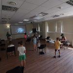 VR akinius išbandė grupė iš Mažeikių Vyturio pradinės mokyklos