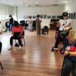 VR akinius išbandė viešnios iš Mažeikių Vyturio pradinės mokyklos