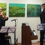 Programos atlikėjai V. Labutis ir P. Ganusauskas