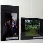 Fotografijų parodos fragmentas