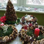 Kalėdinių vainikų paroda