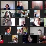 Renginyje dalyvavo Židikų Marijos Pečkauskaitės gimnazijos Ruzgų skyriaus 1-5 kl. mokiniai