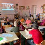 Virtualioje ekskursijoje dalyvavo Viekšnių gimnazijos 1a klasė