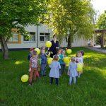 Vaikai gavo dovanų po saulytę