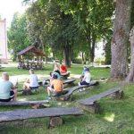 Popietės dalyviai skaitė knygas ir diskutavo