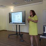 Renginyje dalyvavo Lietuvos biblioterapijos asociacijos narė, psichologė-psichoterapeutė Donata Grakauskaitė-Šličienė