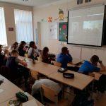 """Virtualioje pamokoje dalyvavo """"Žiburėlio"""" pradinės mokyklos 4 a klasės mokiniai"""