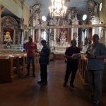 """""""Poezijos pavasario"""" dalyviai aplankė Pikelių bažnyčią"""