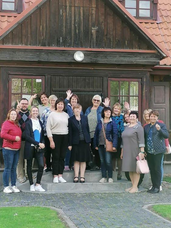 Viekšnių bibliotekoje svečiavosi bibliotekininkai iš Latvijos
