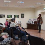 Apie kunigo ir poeto atminimo ženklus pasakojo Janina Dambrauskaitė
