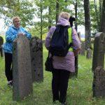 Aplankytos žydų kapinės, esančios Leckavos miestelyje